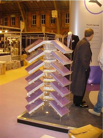 Stand Alone Shirt Display Stand